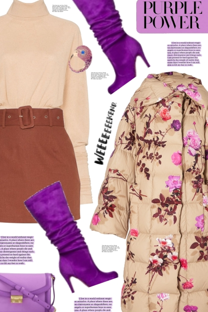 Purple power- Fashion set