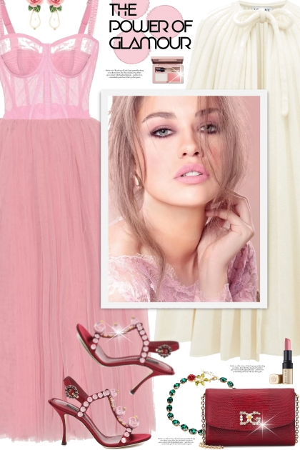 Pink Tulledress