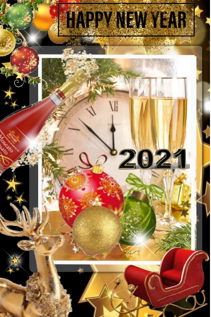 Happy New Year to all my friends and TrendMe