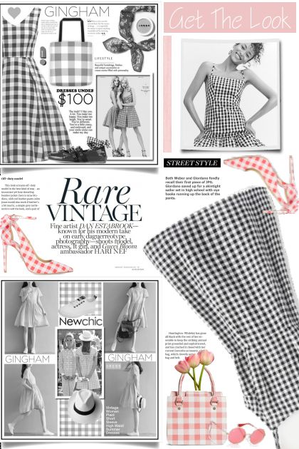 Get The Look - gingham