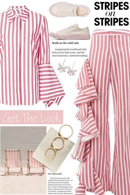 Get the look - Stripes on stripes