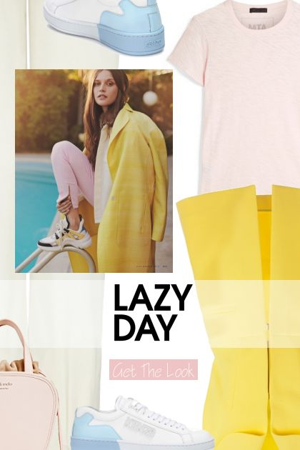 Get the look - Lazy Day