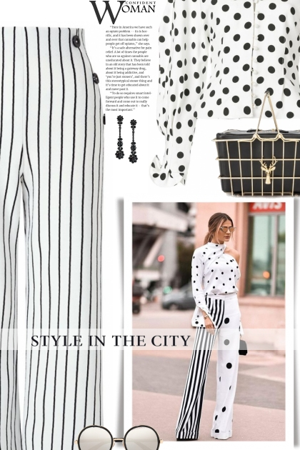 Style in the city - Stripes & Dots