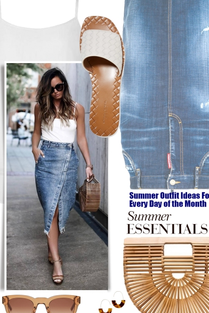 Summer Outfit Ideas For Every Day of the Month