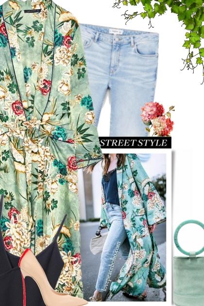 Street Style - Kimono