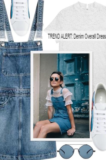 TREND ALERT: Denim Overall Dress