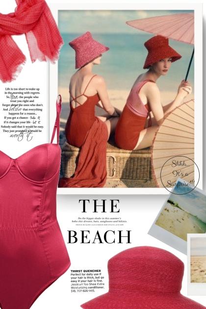 The Beach - Vintage- Fashion set