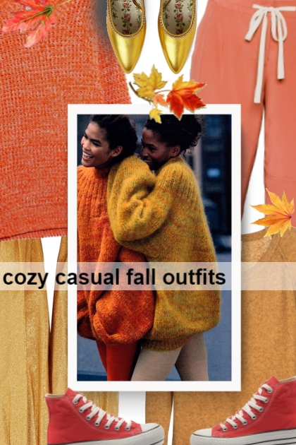 cozy casual fall outfits
