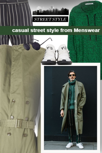casual street style from Menswear