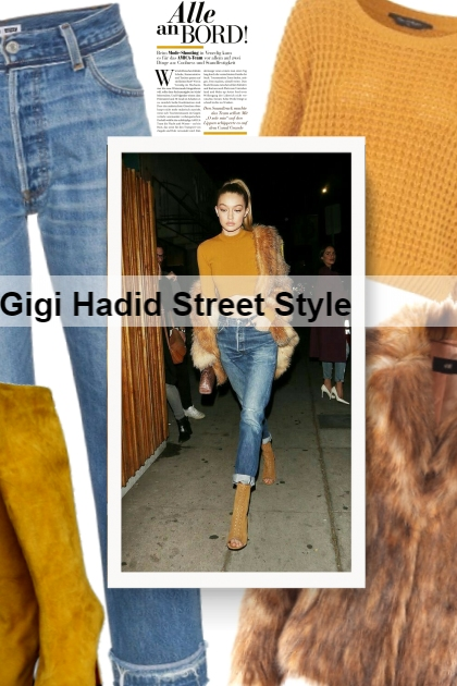 Gigi Hadid Street Style