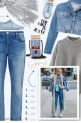The girl in jeans - casual style