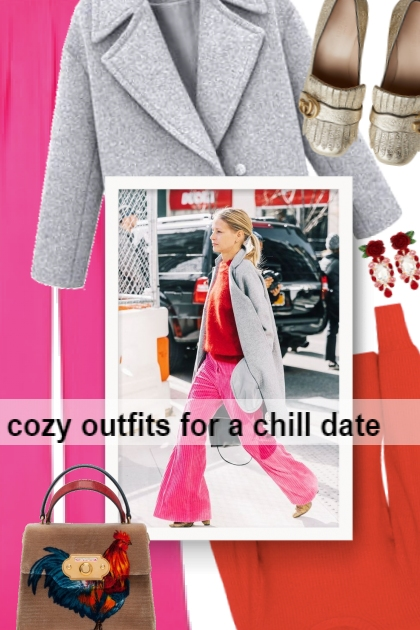 cozy outfits for a chill date