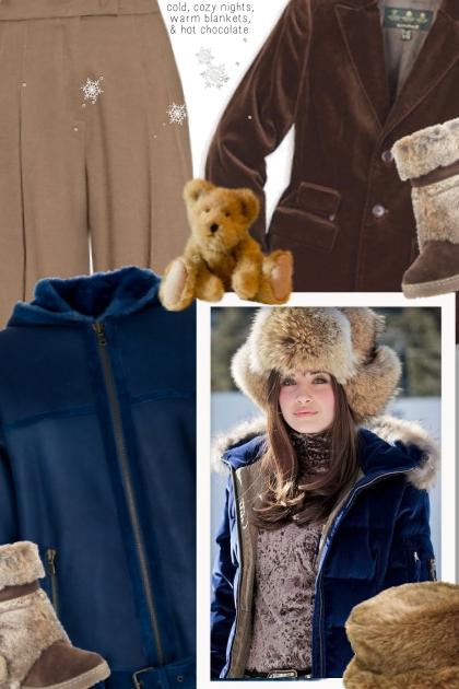 Stylish Boho Winter Outfit