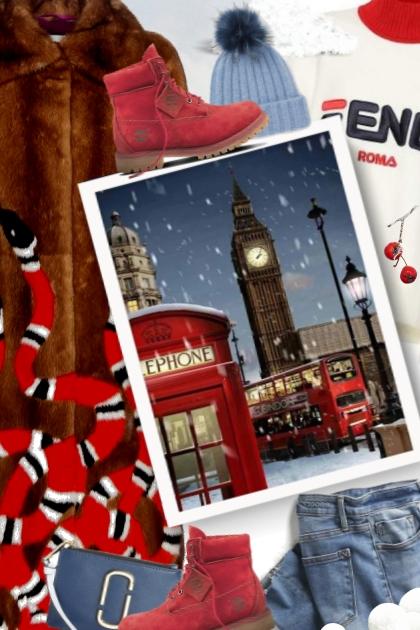 Winter - London