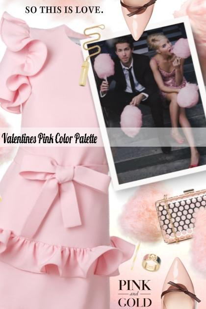 Valentines Pink Color Palette