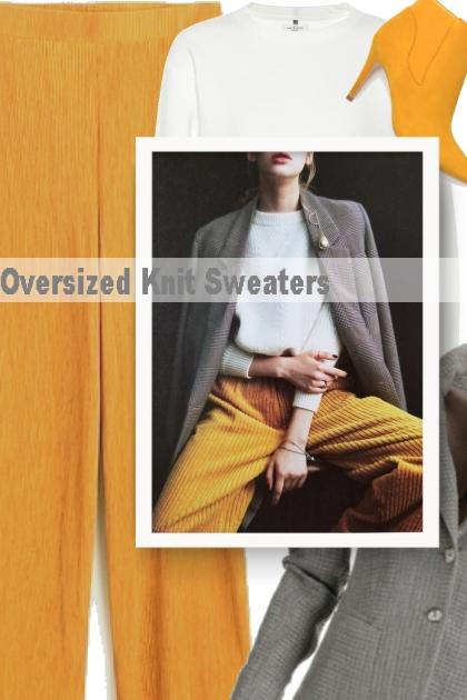 Oversized Knit Sweaters