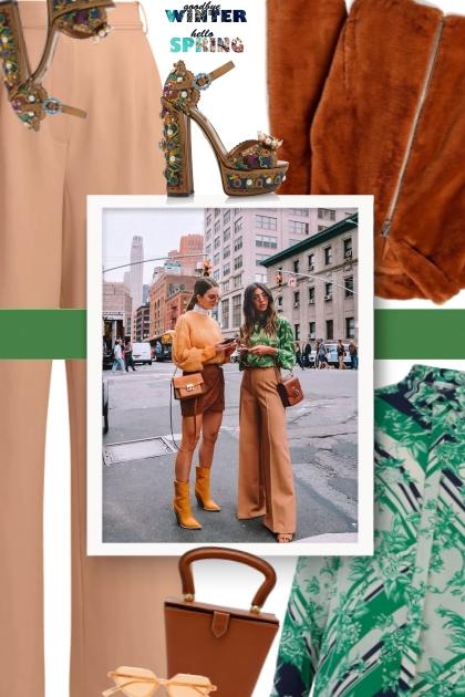 Street Wear Look in New York City