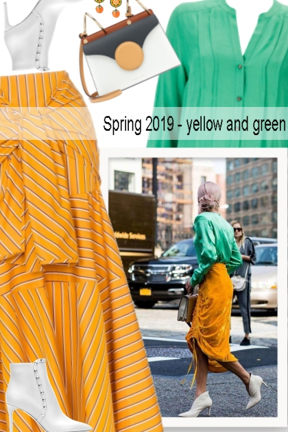 Spring 2019 - yellow and green