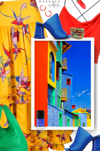 Colours of Caminito in La Boca