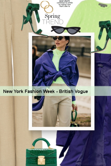 New York Fashion Week - British Vogue