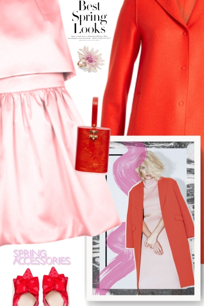 Best Spring Looks - Pink and Red