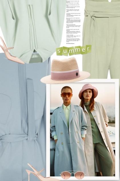 Pastel summer- Combinaciónde moda