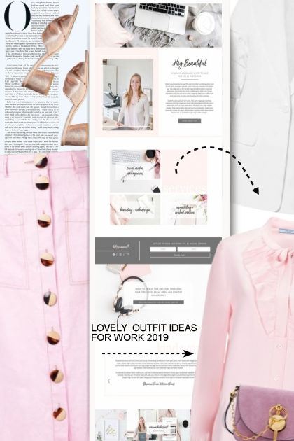 LOVELY  OUTFIT IDEAS FOR WORK 2019