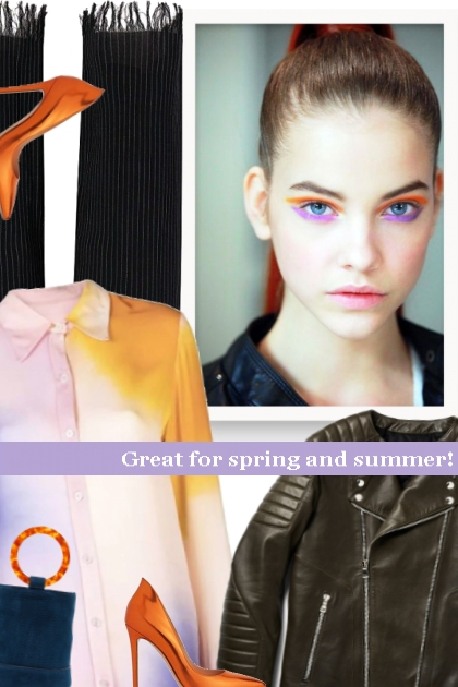 Great for spring and summer!