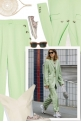 Women Suits and Sneaker Trend