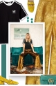 The Cool Way to Wear Gold Pants