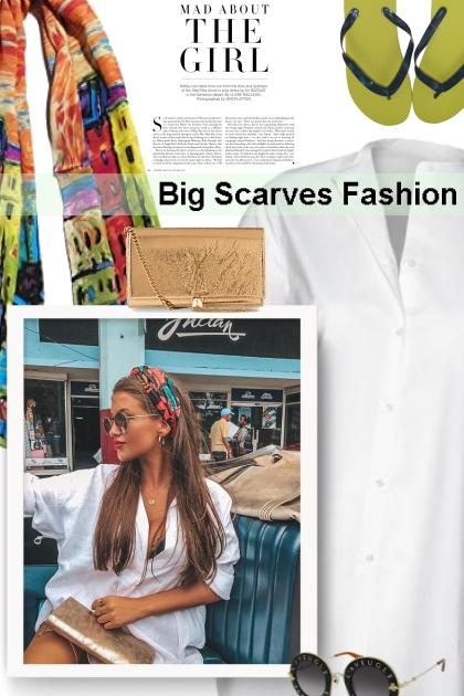 Big Scarves Fashion