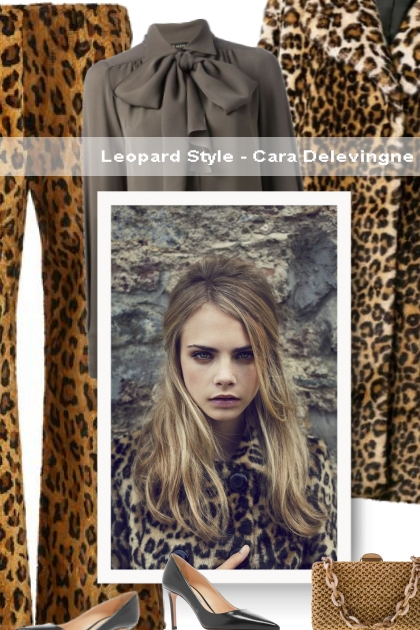 Leopard Style - Cara Delevingne