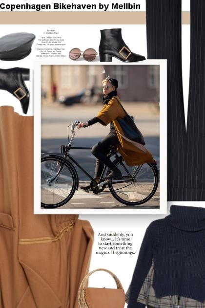 Copenhagen Bikehaven by Mellbin- Fashion set
