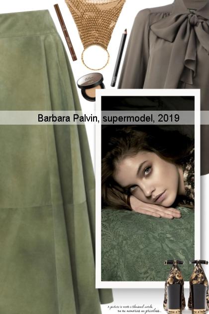 Barbara Palvin, supermodel, 2019