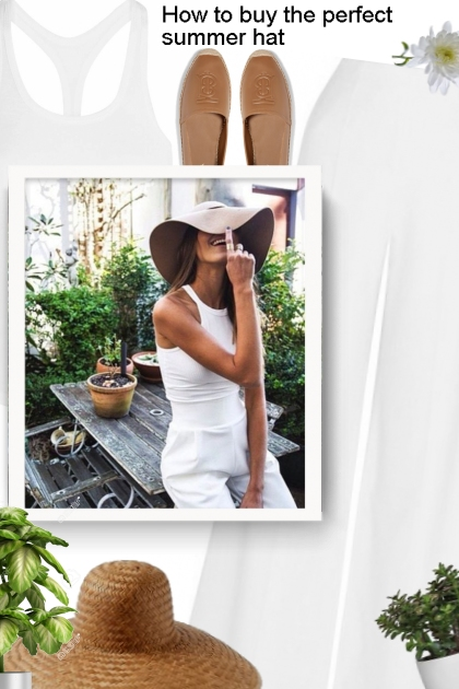 How to buy the perfect summer hat
