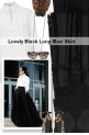 Lovely Black Long Maxi Skirt