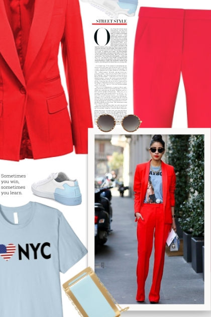 Red Spring Fashion Styles For Women