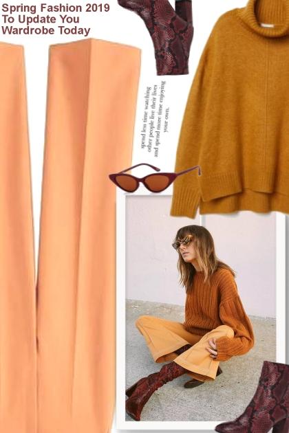 Spring Fashion 2019 To Update You Wardrobe To
