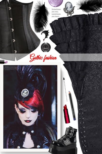 Gothic fashion- Fashion set