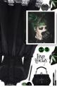 Goth girl makeup