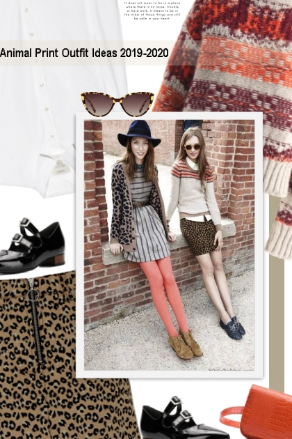 Animal Print Outfit Ideas 2019-2020