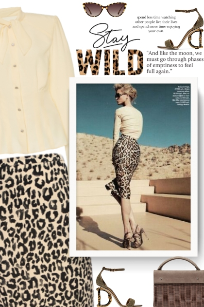 Leopard print isn't usually my thing but this is s