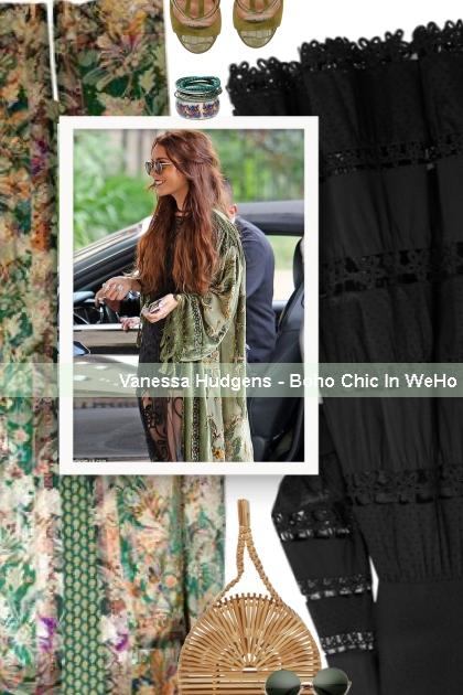 Vanessa Hudgens - Boho Chic In WeHo