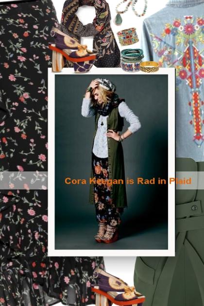 Cora Keegan is Rad in Plaid