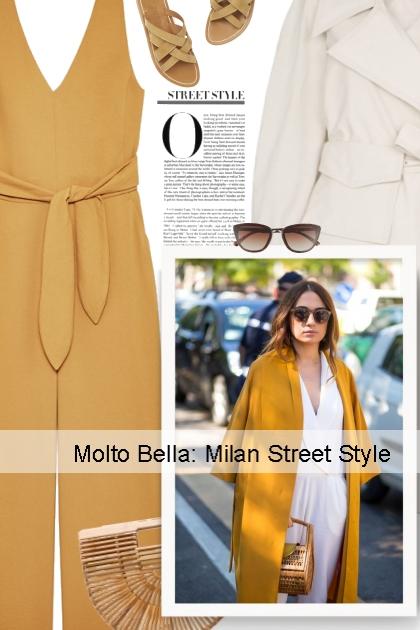 Molto Bella: Milan Street Style