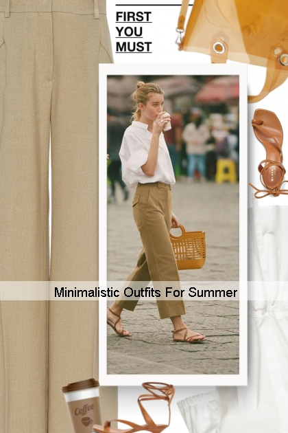 Minimalistic Outfits For Summer