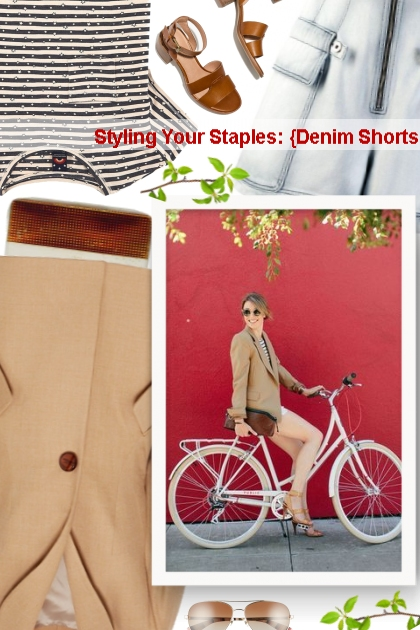 Styling Your Staples: {Denim Shorts