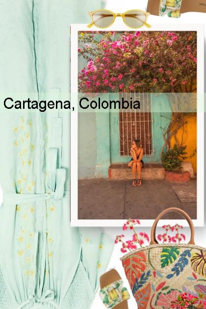 Cartagena, Colombia 2019- Fashion set