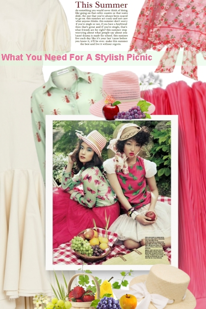 What You Need For A Stylish Picnic