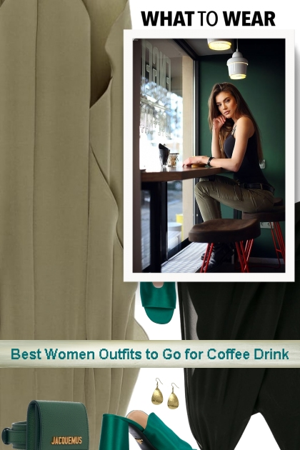 Best Women Outfits to Go for Coffee Drink